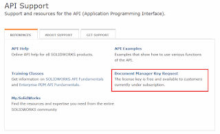 Connect to SOLIDWORKS Document Manager Application from API